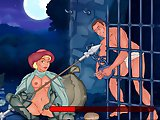 Jail Break 2 - Naughty flash sex game:Help Daniel to fool a sexy guardian and save his ass. Move the mouse left and right to control Daniel, Try not t