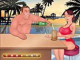 Make her drunk - Life sex flash game:Try to pour this busty babe alcohol to her soft drink while she couldn't see and she'll be yours!