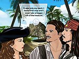 Pirates Of The Caribbean - Adult flash fuck game:Sexy Elisabeth wants to fool the pirats but she got in a very unfavourable condition, fuck this hot b