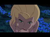 Ben 10 Forest Scene - Sexy Blonde gives Ben a Blowjob, Ben touches her bouncy ass, they fuck and he cums in her mouth.