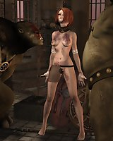 Buxomy fantasy babes and other strange creatures in XXX