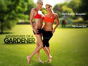 Be the gardener for a day and experience the sizzling adventures awaiting for you!  The real housewives of LA reveal a hidden world filled with passion - unknown to outsiders before.