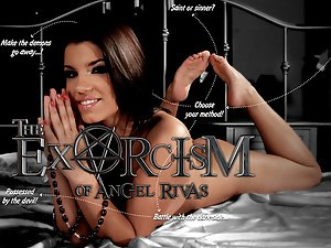 Interactive sex game with Angel Rivas