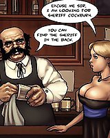 Crazy Black and White Comics XXX