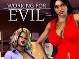 Working for Evil - game for adults with awesome fucking action