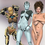 Hot 3D Alien porn