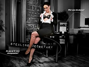 Stealing secretary - interactive porn