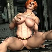 Latex 3D porn