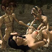 Dwarfs fuck sexy girls