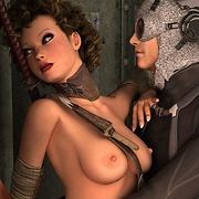 Hot 3D Fallout babes