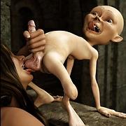 Fantasy goblin sex