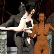 Demons hard harem ritual