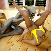 Beauties fucked by monsters