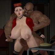 Interracial awesome porn