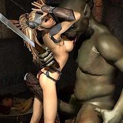 Fantasy 3D porn