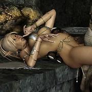 Elves penetrated screaming of pleasure