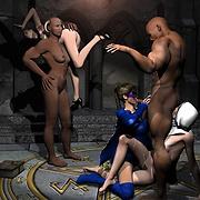 Elfin sluts penetrated