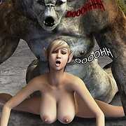 Monster fantasy porn