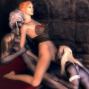 Hot ritual sex action