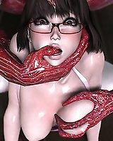 Hot alien sex - 3D Porn