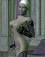 Erotic fantasy adult art