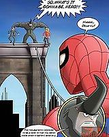 Before sex Spider-Man - adventure comics