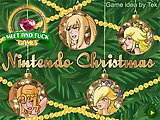 Nintendo Christmas. It's Christmas Eve and our favorite Nintendo blondes Peach, Samus, Zelda and Rosalina have decided to arrange a little party