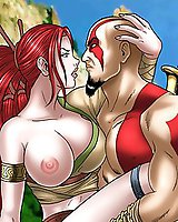 God of War, Heavenly Sword porn hot boobs