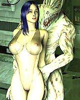 Sci-fi 3D Porn