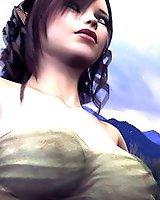 3D Erotic fantasy elf