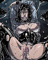 Horror and hot boobs anime porn