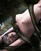 Sci-fi tentacle sex - 3D Porn