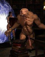 Demon sex ritual