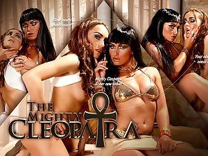 Follow the Queen of the Nile as she gets a new slave to play with. However, it seems her new servant is not trained good enough, so the mighty Cleopatra breaks her personally. Watch as the sobbing slave massages and pleases her mistress - and how she