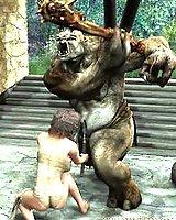 Elf girl nude fighter