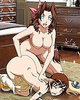Anime sexy heroines fuck