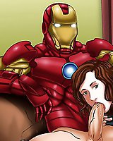 Iron man cartoon porn