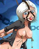 BDSM anime porn