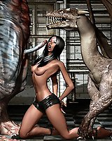 Beast monster sex in 3D