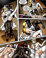 Hardcore interracial sex comics