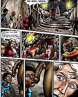 Interracial sex comics with space sluts