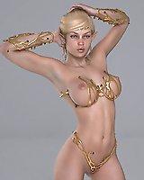 Lustful elf babes - 3D Porn