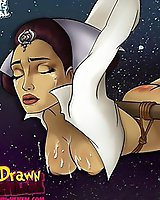 Famous Star Wars toon porn