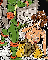 Ninja turtles porn comics