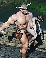 Fantasy sex 3d orgies