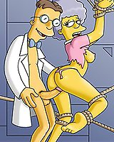 Dirty sex cartoon Simpsons mature and gay