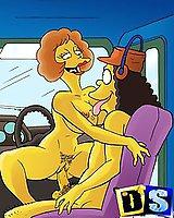 Awesome Simpsons cartoon xxx