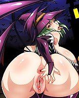 Darkstalkers - anime hentai porn