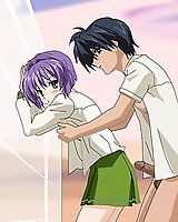 Kyou from Clannad anime sex pics