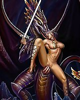 Famous and beautiful - xxx artist's fantasy pics